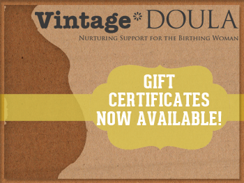 vintage doula gift-certificate